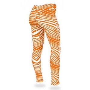 🆕 Tennessee Volunteers Orange Zebra Legging XS